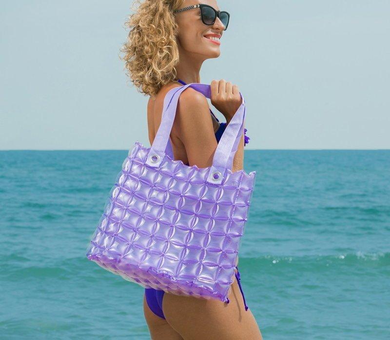 Городская сумка на пляже бикини, девушки, море, пляж, полезности, советы, фото