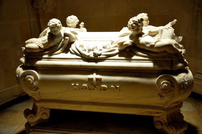 Йозеф Гайдн дикая история, легенда, могила, покой, смерть, странности