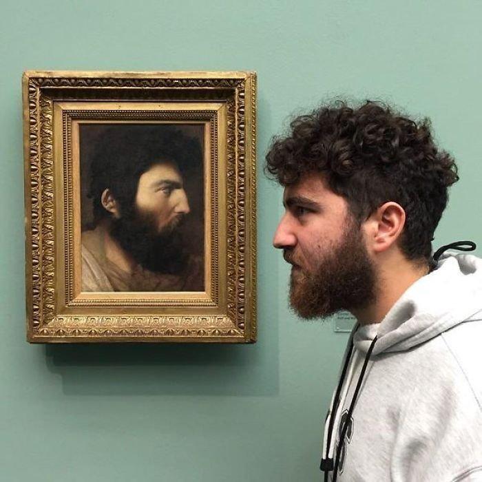 3. Поговори со мной, друг! Веселые, музей, портрет, произведение искусства, реинкарнация, фантазия