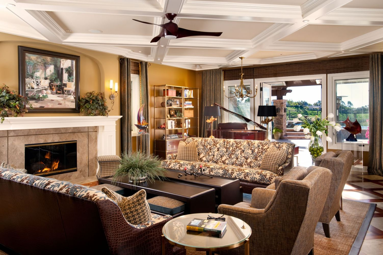 Interior Design In Newhall CA R Johnston Interiors