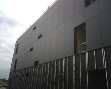 Precio de una fachada ventilada