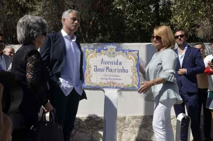 """Résultat de recherche d'images pour """" Jose Mourinho à Setubal"""""""