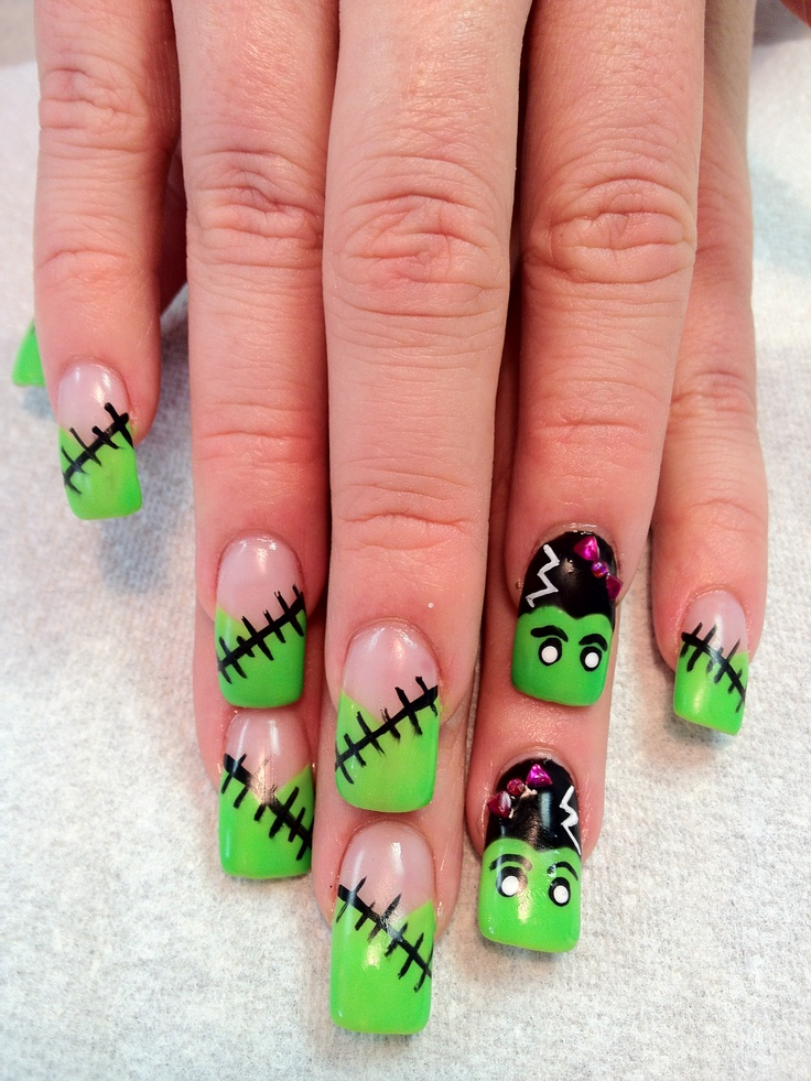 5 Surreal Nail Art Designs That Will Cause A Scare Oicarby