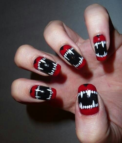 teeth nails