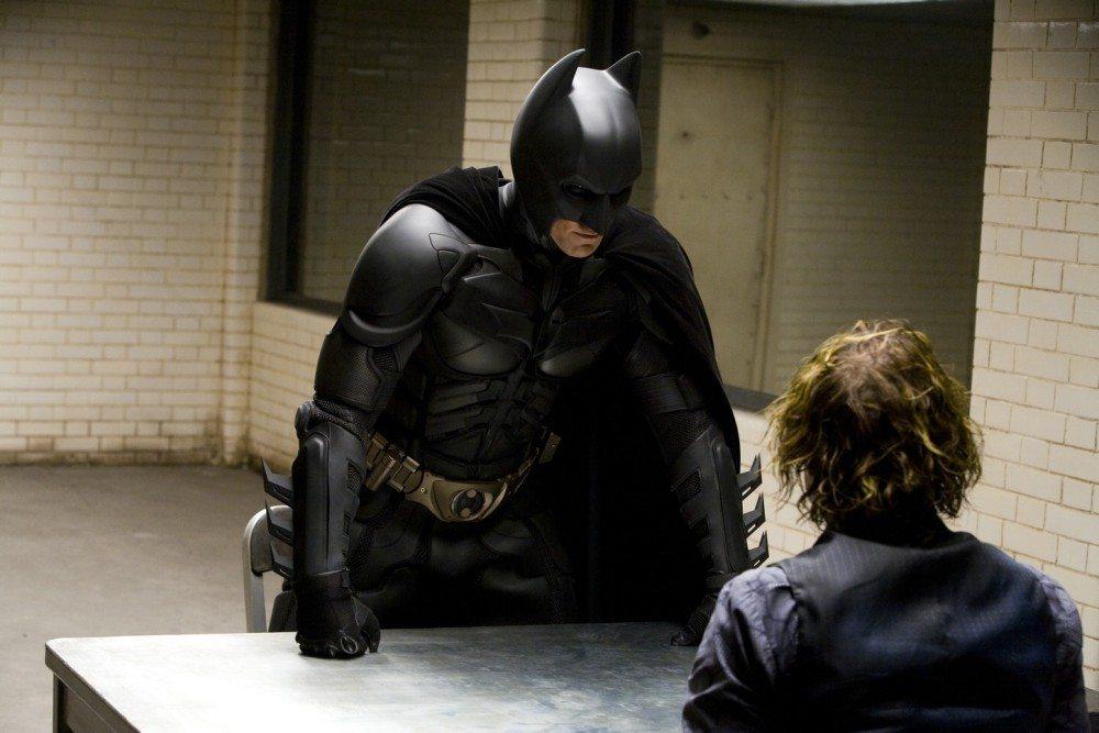 Christian Bale Really Hit Heath Ledger During The Dark Knights Interrogation Scene Flickering