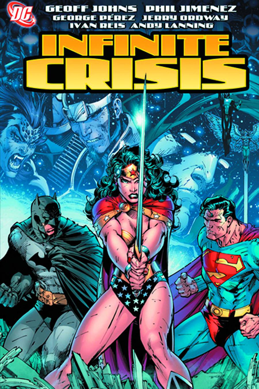 Countdown To Justice League Infinite Crisis Flickering Myth