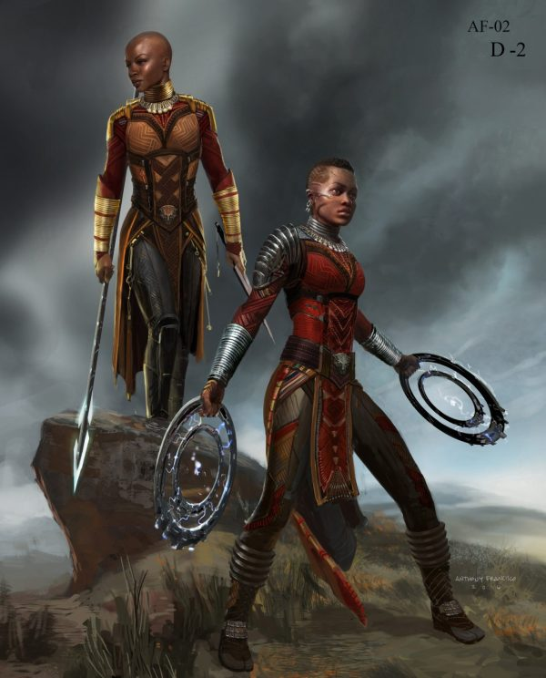 Marvel' Black Panther Batch Of Concept Art Flickering Myth