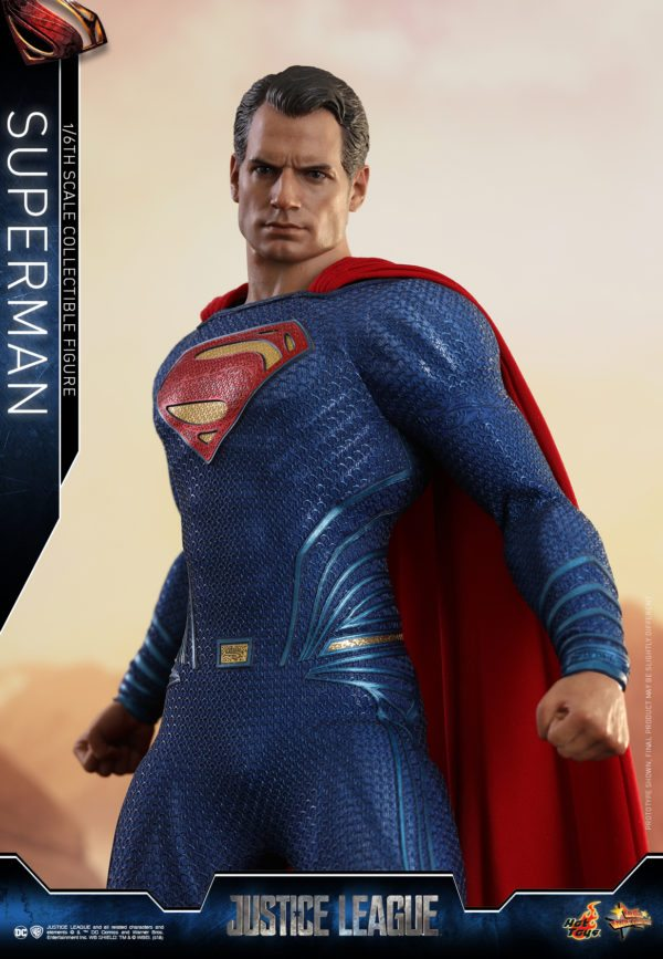 Hot Toys' Justice League Superman Movie Masterpiece collectible figure unveiled