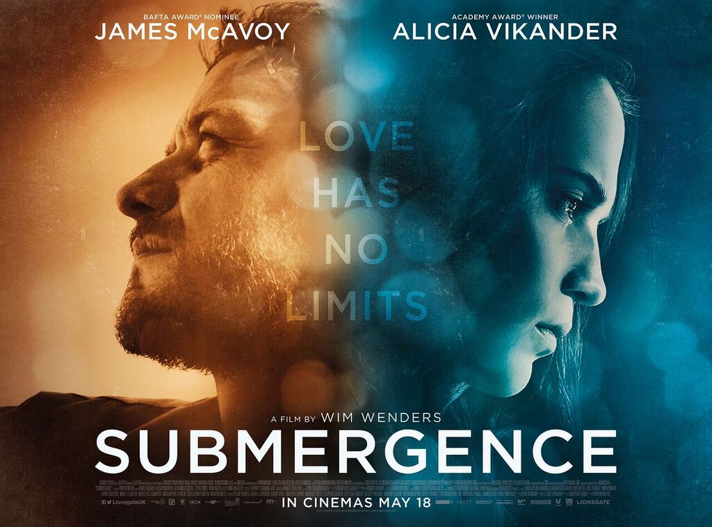 Fall In Love With Me Wallpaper First Poster And Trailer For Submergence Starring James
