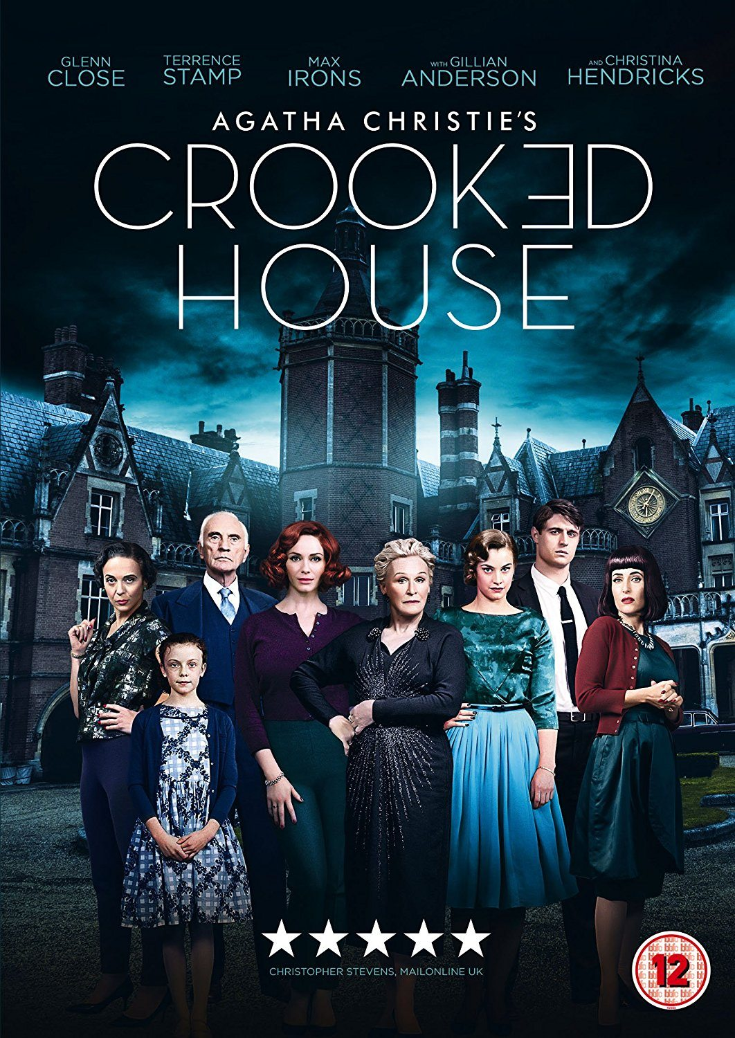 Movie Review Agatha Christies Crooked House 2017 Flickering Myth