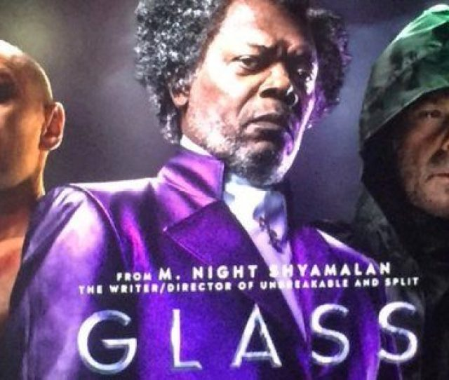 First Artwork For M Night Shyamalans Unbreakable And Split Sequel Glass