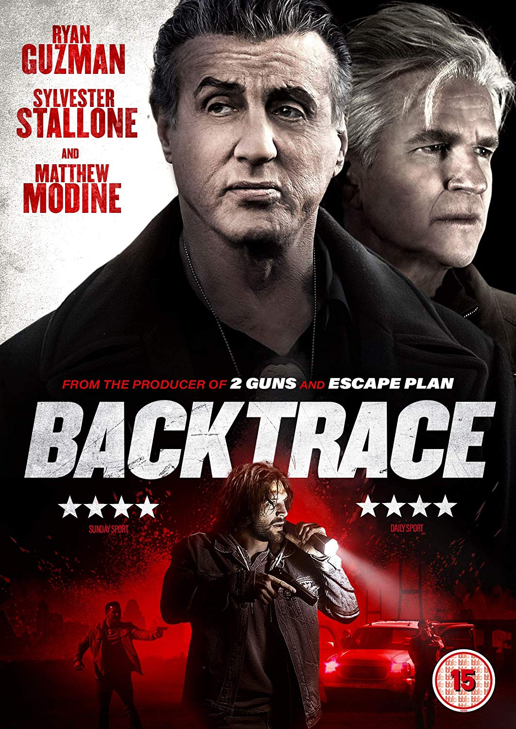 DVD Review  Backtrace 2018  Flickering Myth
