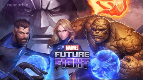 The Fantastic Four arrive in Marvel Future Fight