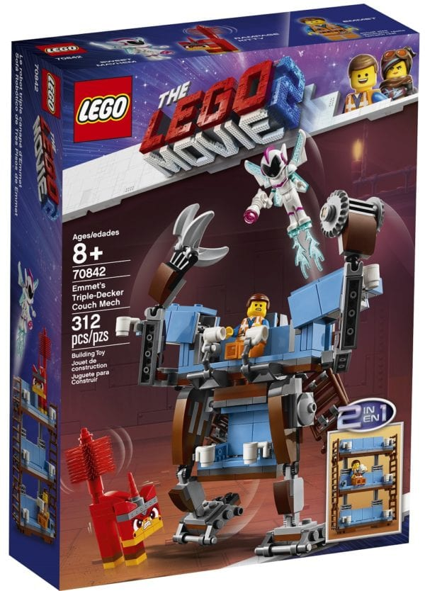 LEGO Unveils Three New The LEGO Movie 2 The Second Part