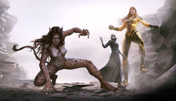 Wonder Woman Bloodlines animated movie artwork synopsis