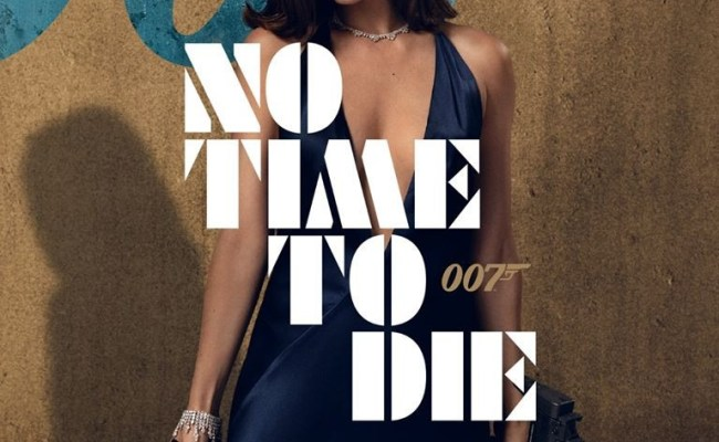 No Time To Die Character Posters Feature Daniel Craig