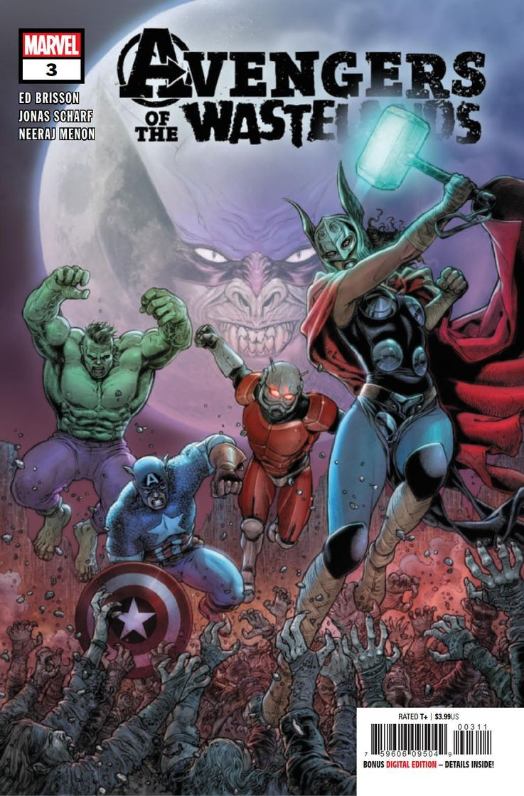 Comic Book Preview - Avengers of the Wastelands #3
