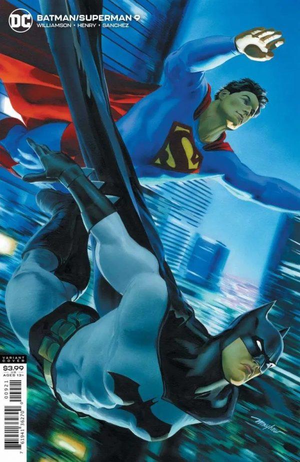 Batman/Superman #9 Variant Cover