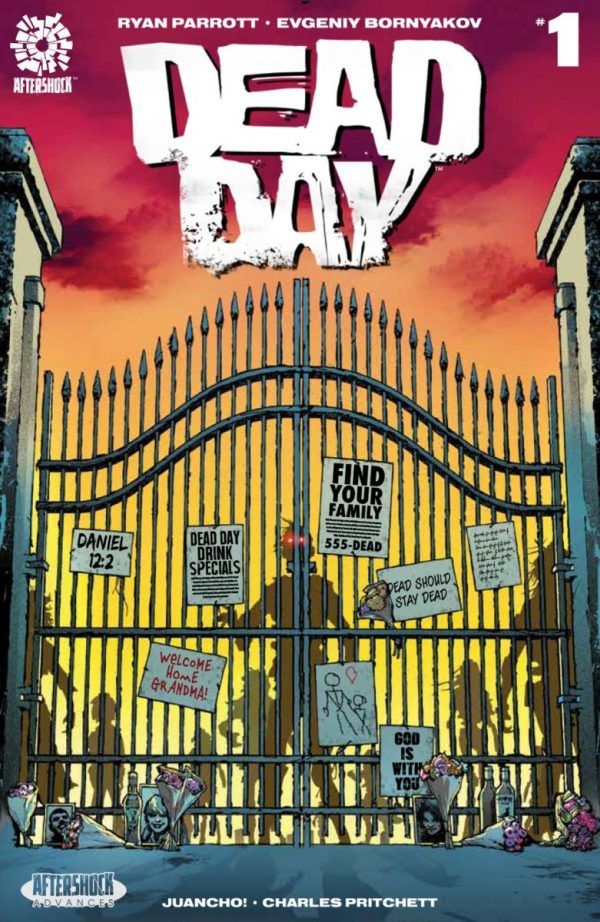 Comic Book Preview - Dead Day #1