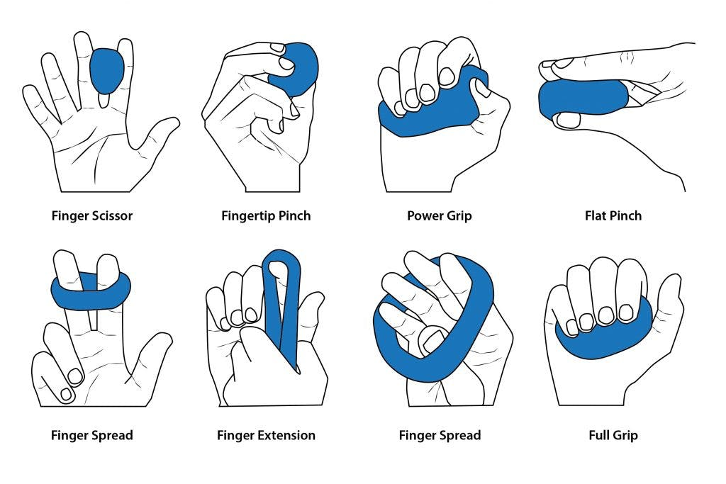 37 hand therapy exercises