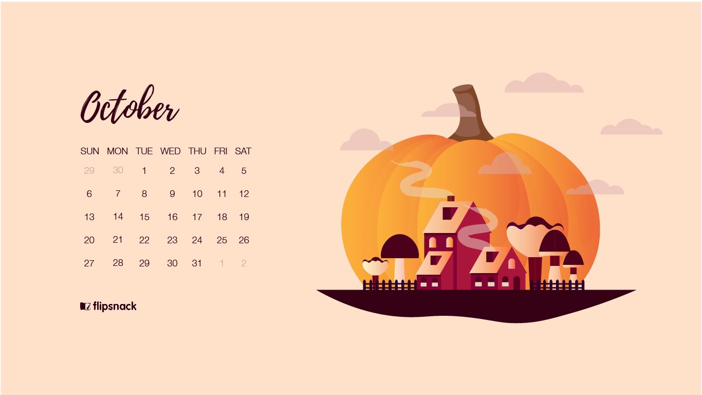 Falling Leaves Live Wallpaper Free Download Free October 2019 Wallpaper Calendars Flipsnack Blog