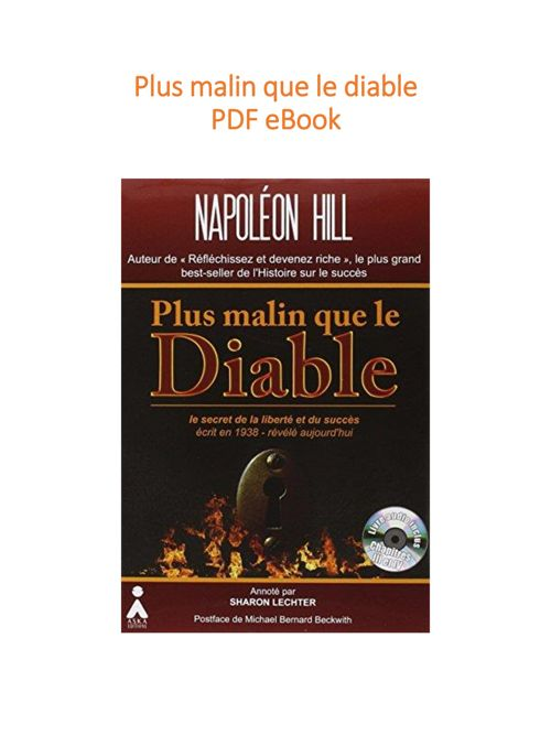 Plus Malin Que Le Diable Pdf : malin, diable, Télécharger, Liste, Secrètes, Livres, Groupe, Mastermind, Destination, Gratuit, PDFprof.com