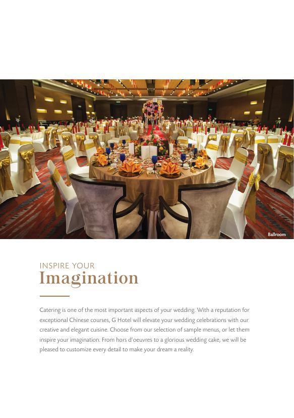 G Hotel Gurney Wedding Brochure by G Hotel - Flipsnack