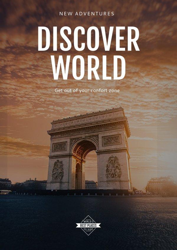 Travel Tours Flyer Template Amp Design Flipsnack