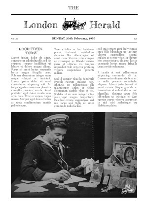Newspaper Article Maker : newspaper, article, maker, Editable, Newspaper, Templates, Flipsnack