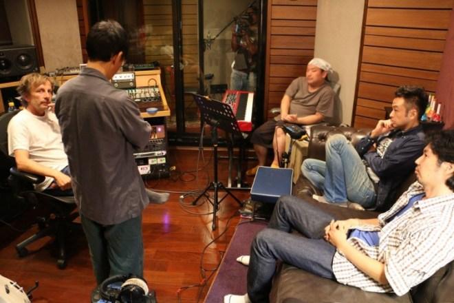 生祥樂隊《圍庄》概念雙唱片錄音現場