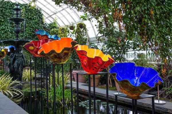 Chihuly Glass Garden Art