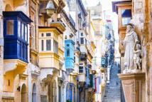 Valletta Malta Street