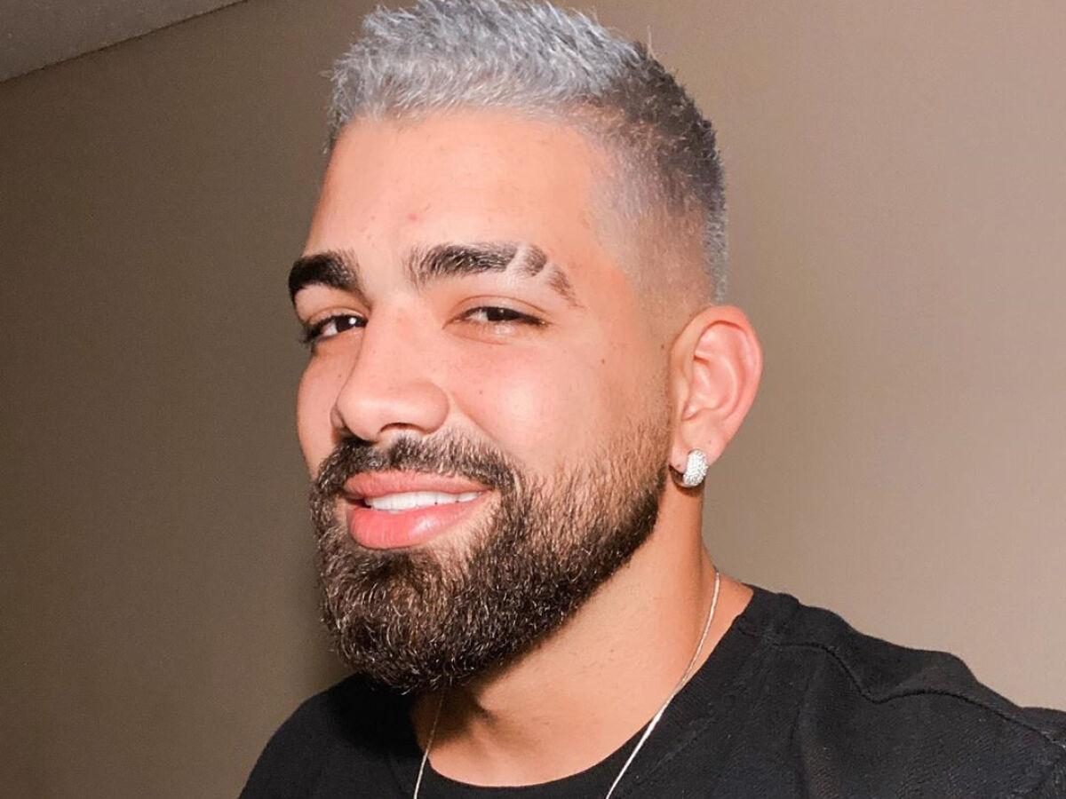 Dilsinho surge com cabelo prateado e revela vontade de desfilar em escola  de samba - Folha PE