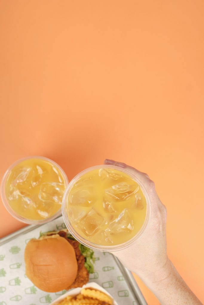 mango shake shack lemonade