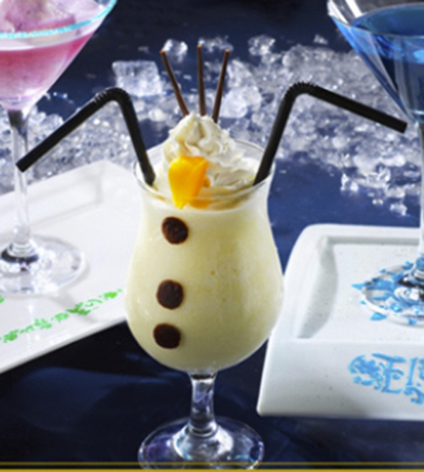 Do You Wanna Drink this Frozen Snowman Cocktail from