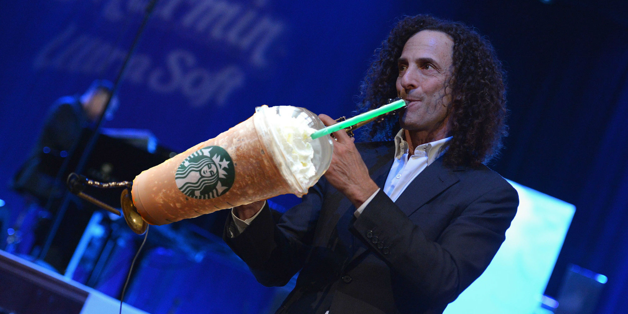 You Have Kenny G to Thank for the Frappuccino