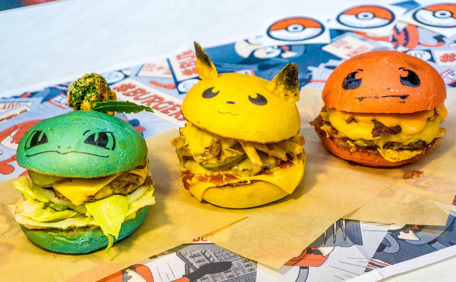 Image result for down n out pokemon burgers