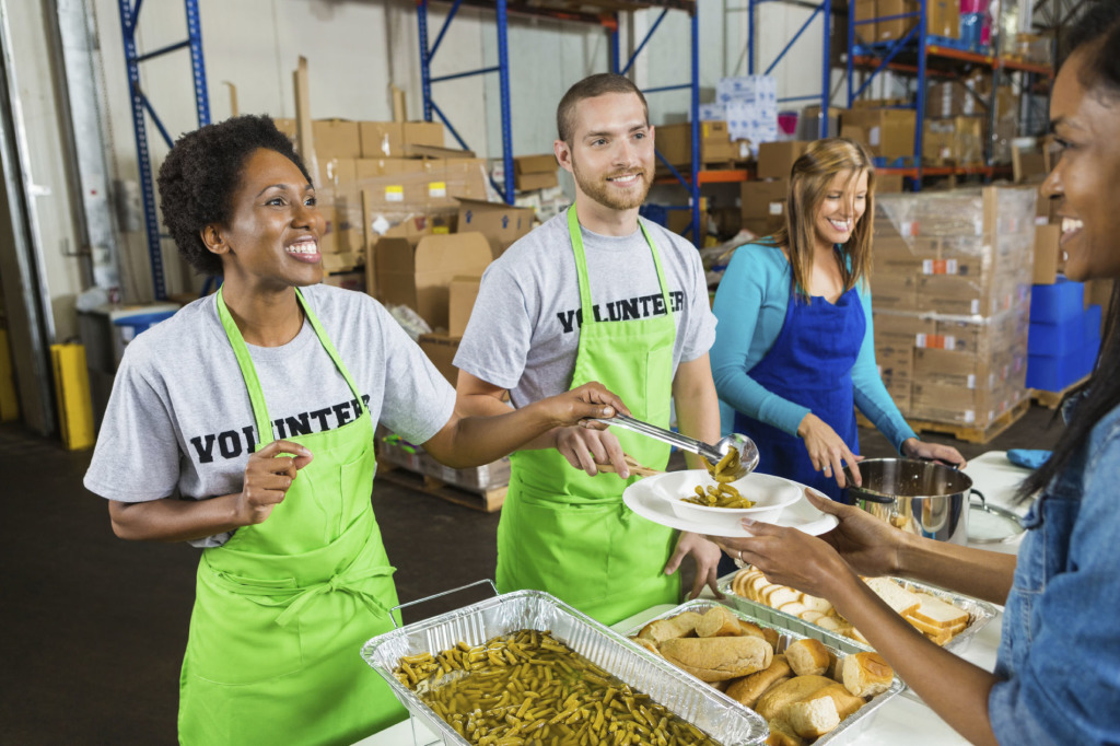 How To Volunteer At A Food Kitchen Without Seeming Self