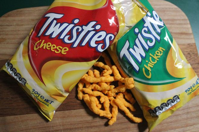 empty chip bag