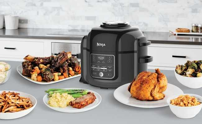 New Cooking Appliance Acts As Both An Instant Pot And
