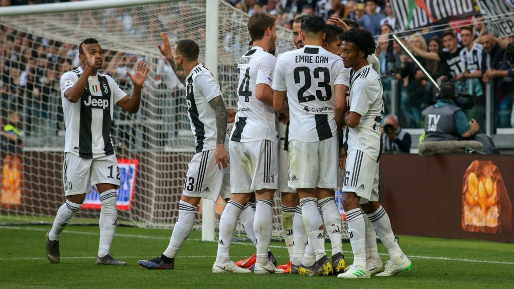 Juventus, winners of eighth consecutive serie a titles and present in the footballcoin fantasy football game