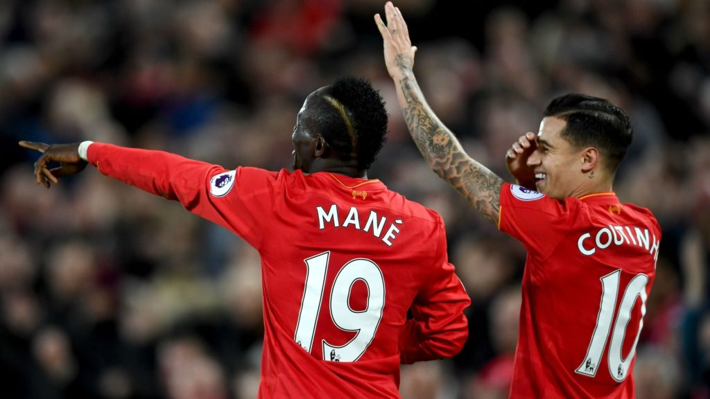 sadio mane philppe coutinho - barcelona vs. Liverpool in fantasy football