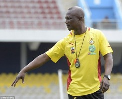 Image result for Ghana appoint Kwesi Appiah as coach of Black Stars