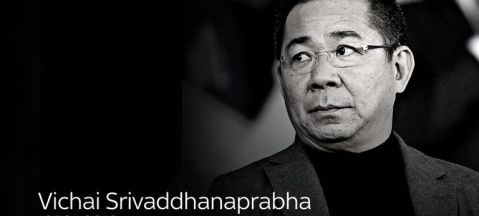 Image result for vichai srivaddhanaprabha black and white