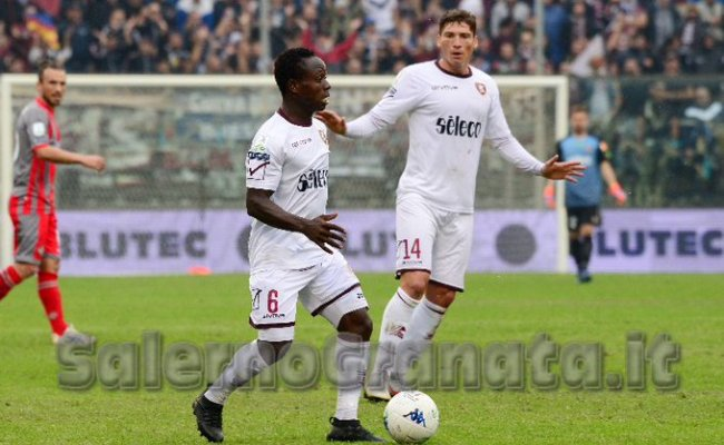 Moses Odjer Set To Return To Action For Salernitana