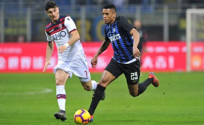 Inter Milan Loan Watch Debut Superb Winner And Blocking