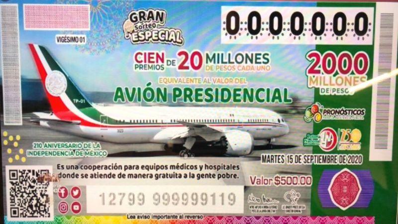 cachito avion presidencial