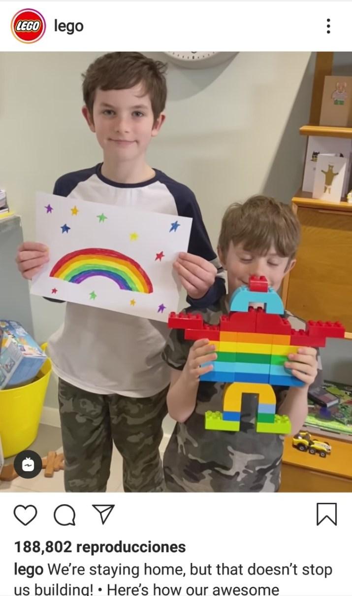 LEGO apoya a las mamás