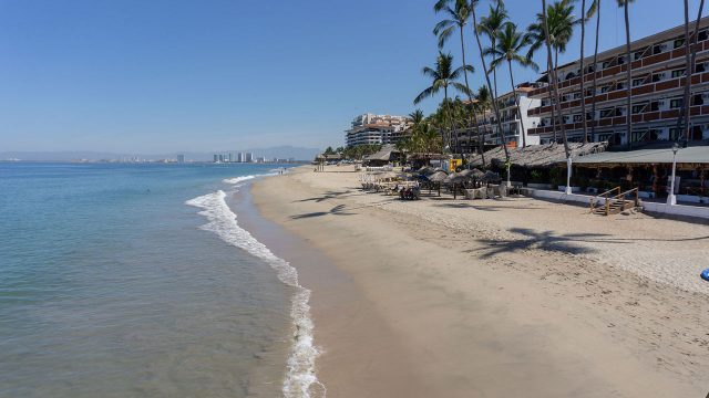 CORONAVIRUS Puerto Vallarta without tourists