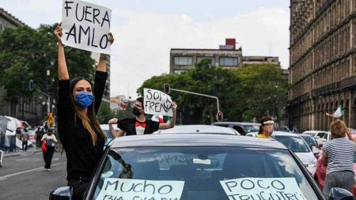 Se registran marchas anti-AMLO este domingo • Forbes México